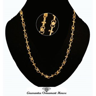 Guarantee Ornament House  Imitation Jewellery Designer Golden Fashion Necklace Chain GOH90