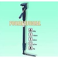 SONIA LIGHT WEIGHT TRIPOD STAND MONOPOD FREE CARRY CASE BAG UP TO LOAD 3KG