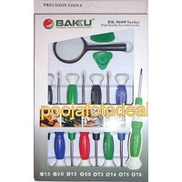 Baku 11 Pieces PC Tool Kit / Screw Driver Set For Mobile Repairing Made In Best