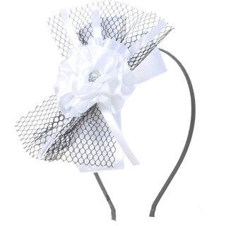 Stol'n Floral White Hairband