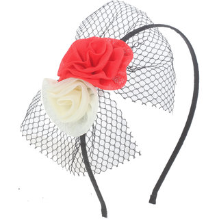 Stoln Floral Red/Cream Hairband