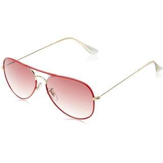 Joe Black JB-739-C3 RED LT Red Aviator Sunglasses