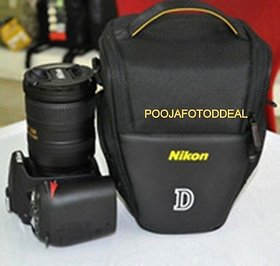 SHOPEE Camera Travel Shoulder Bag for Nikon D70's D80 D90 D3000 D3200 D40 D5000 Camera