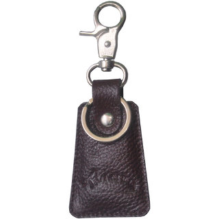 Tamanna Leather Brown Key Chain (Key Ring 03)