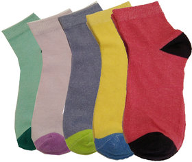 LADIES COTTON SOCKS MULTI COLOR PO-4