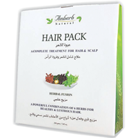 Anherb Natural Hair Pack Complete Treatment For Hair & Scalp