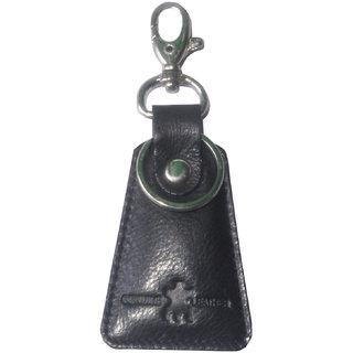 Tamanna Leather Black Key Chain (Key Ring 02)