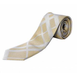 Blacksmithh Formal Yellow Woven Tie QMB047_5