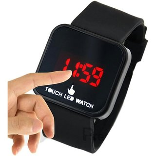 i DIVA'S  Boys LED Watch Red  Black Colour