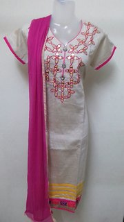 Chanderi cotton top