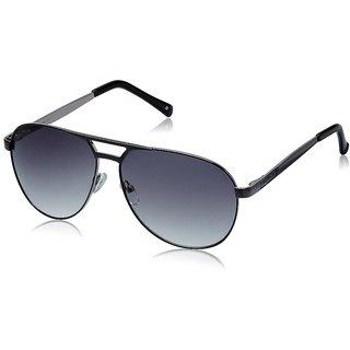 Joe Black JB-736-C4 Grey Aviator Sunglasses
