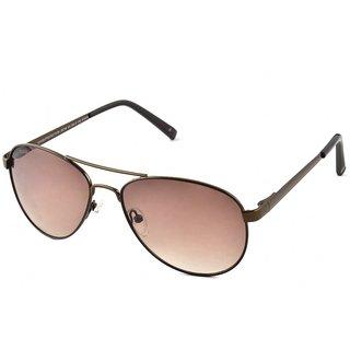 Joe Black JB-738-C4 Brown Aviator Sunglasses