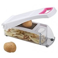 FAMOUS PREMIUM VEGETABLE & FRUIT CUTTER With 2 Blade