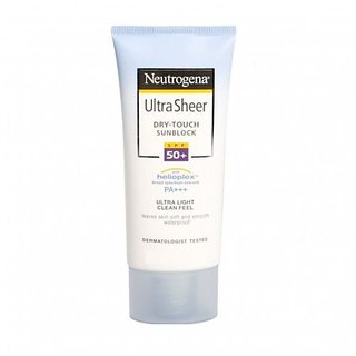 Neutrogena UltraSheer Dry Touch Sunblock SPF 50+ PA+++ Sunscreen Lotion