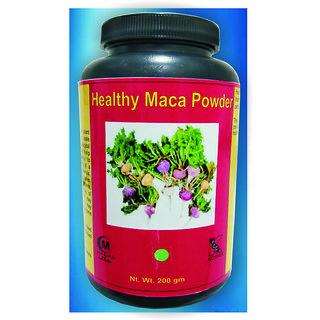 Hawaiian Herbal, Hawaii,USA - HEALTHY MACA POWDER - 200 gm (Buy any Healthcare Supplement  Get the Same Drops Free)