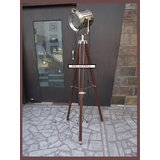 HOLLYWOOD FLOOR LAMP SPOT LAMP FLOOR SEARCHLIGHT SIGNAL LIGHT HEAVY LAMP,
