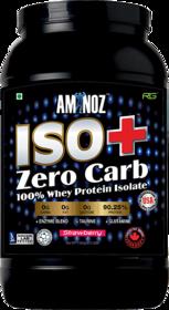 Aminoz Iso+  Zero Carb 2.2lbs Strawberry