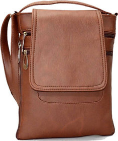 Clementine Women's Sling Bags (Tan) (sskclem204)