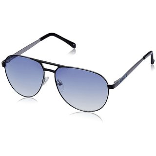 Joe Black JB-736-C3 Blue Aviator Sunglasses
