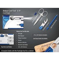 Deluxe Card Tool Kit-Card Shape