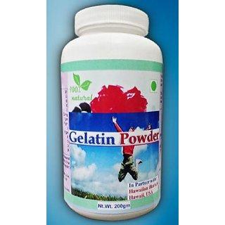 Hawaiian Herbal, Hawaii,USA -GELATIN POWDER - 200 gm (Buy any Healthcare Supplement  Get the Same Drops Free)