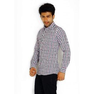 Solemio Purple Trendy Slim Fit Shirt 1047 PU