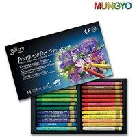 Mungyo Gallery WaterColor Crayons - 24 Colors