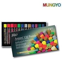 Mungyo Gallery Artists' Oil Pastels  - 12 Metallic & Fluorescent Colors