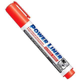 Mungyo White Board marker Red  Set of 12