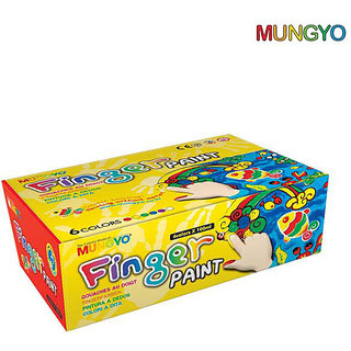 Mungyo Finger Paint - Set Of 6 Colors