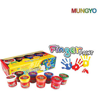 Mungyo Finger Paint - set of 8 Colors