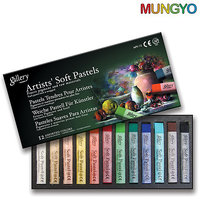 Mungyo Gallery Artists' Soft  Pastels - 12 Colors