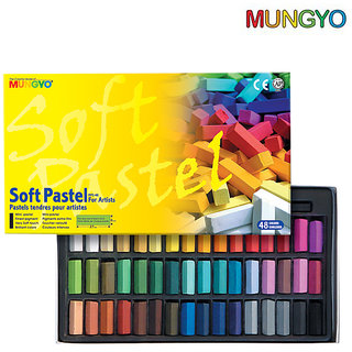 Mungyo Soft Pastel For Artist - 48 Half Length Colors