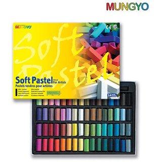 Mungyo Soft Pastel For Artist - 64 Half Length Colors