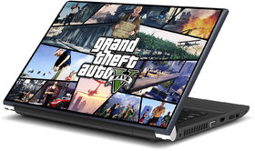 Grand theft Auto 5 Laptop Skin by Artifa