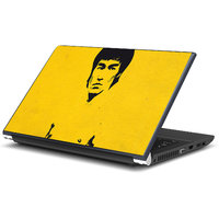 Bruce Lee Yellow Laptop Skin By Artifa