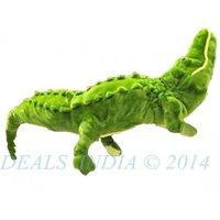 Huge 29 Alligator Crocodile Green Stuffed Plush Toy