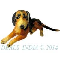 Imported Sitting Dog Stuffed Soft Toy 47cm