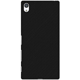 Amzer Designer Case - Carbon Black With Texture For Sony Xperia Z5 Premium
