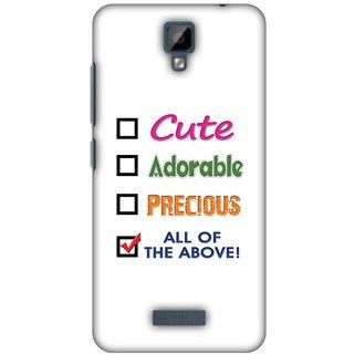 Amzer Designer Case - Cute For Gionee P7
