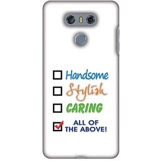 Amzer Designer Case - Handsome For LG G6