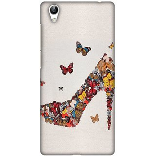 Amzer Designer Case - Butterfly High Heels For Vivo Y51