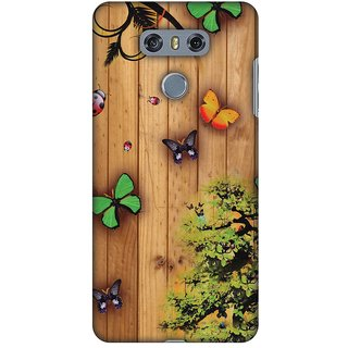 Amzer Designer Case - Bonsai Butterfly For LG G6