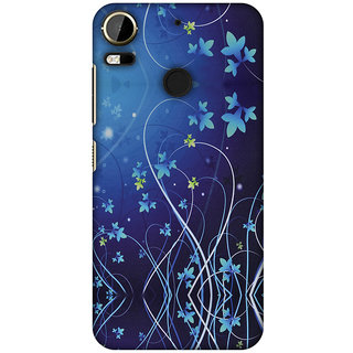 Amzer Designer Case - Midnight Lily For HTC Desire 10 Pro