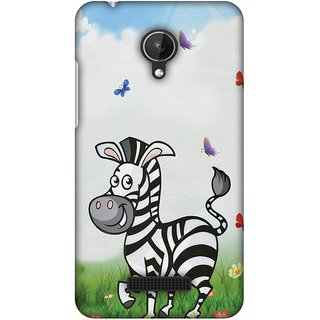 Amzer Designer Case - Lexi Zebra For Micromax Canvas Spark Q380