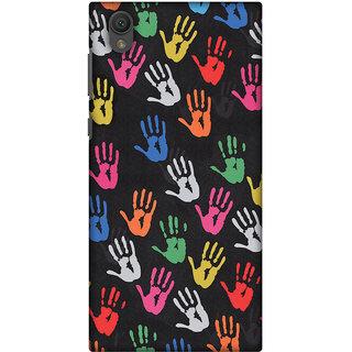 Amzer Designer Case - Colour Palms For Sony Xperia L1