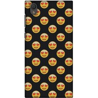 Amzer Designer Case - Emoji Love For Sony Xperia L1