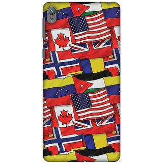 Amzer Designer Case - Flags United For Sony Xperia E5