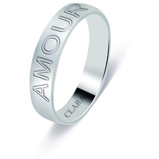 Clara Sterling Silver The Amour Unisex Ring