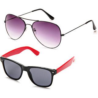 Davidson Cool Combo Grey & Black Sunglasses (Design 1)